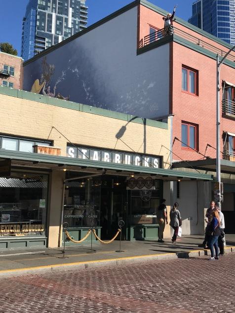 First ever Starbucks